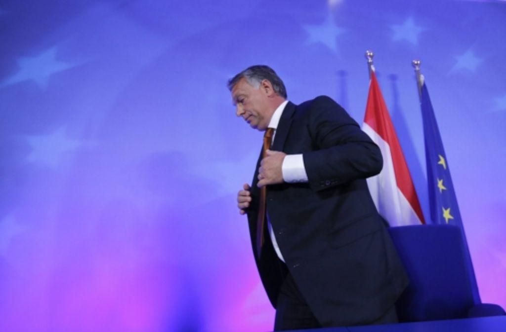 Ungarns Premier Viktor Orban Foto: dpa