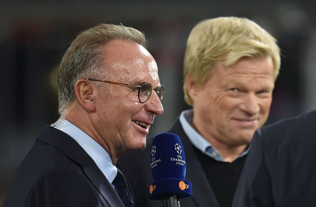Löst Oliver Kahn (rechts) Kalle Rummenigge beim FC Bayern ab? Foto: dpa