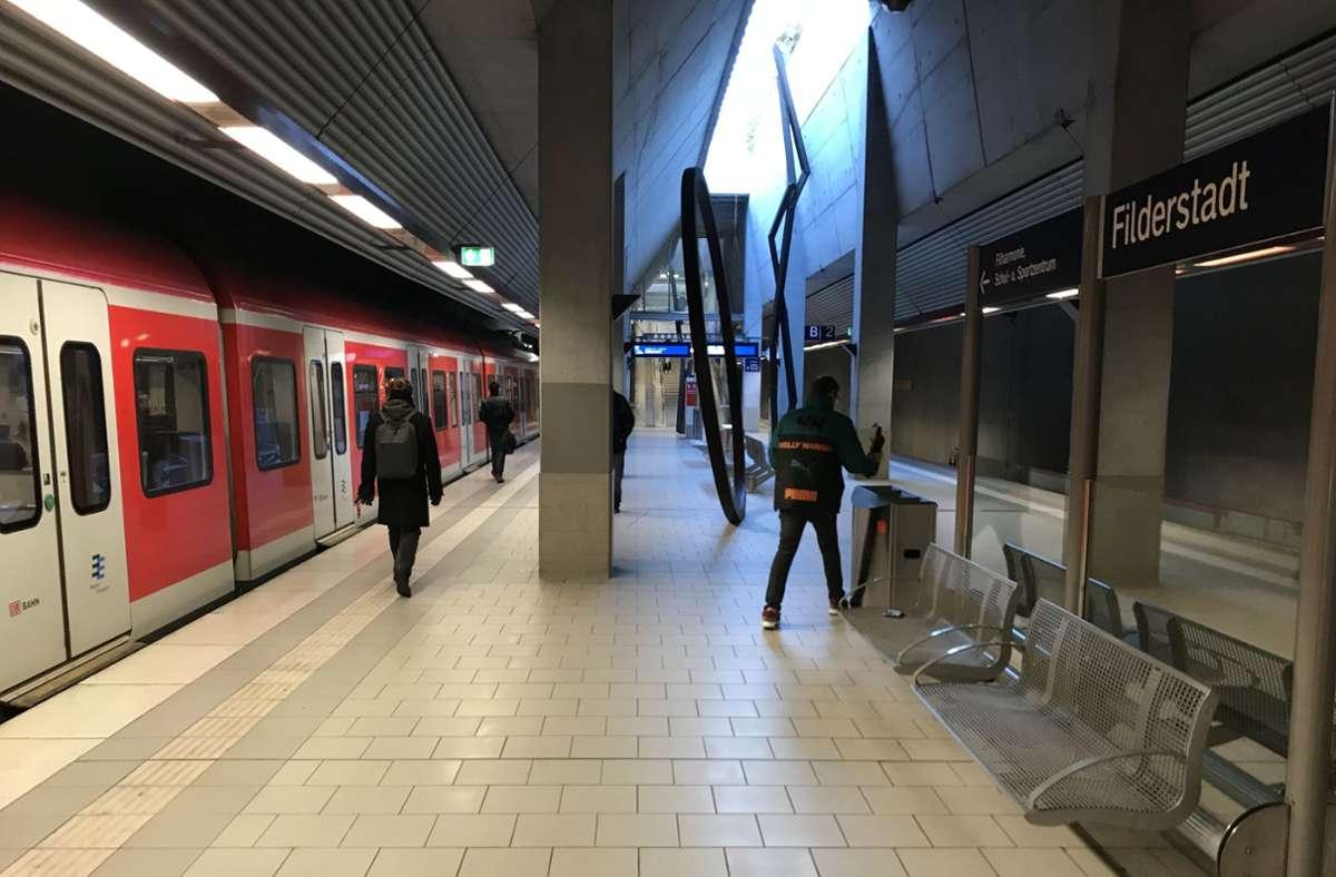 Die Strecke nach Filderstadt nutzen täglich rund 10000 Pendler. Foto: Archiv Julia Bosch