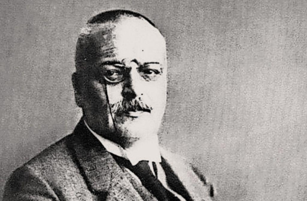 Alois Alzheimer (1864 – 1915) Foto: Tourist-Information Marktbreit