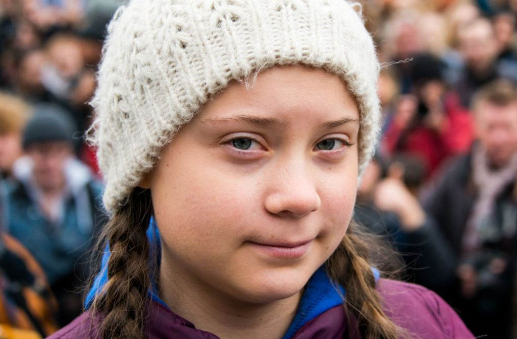 Die Schülerin Greta Thunberg ist Foto: dpa