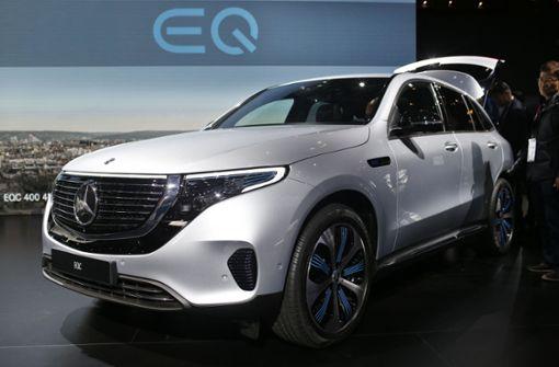 Mercedes muss neues E-Auto EQC zurückrufen