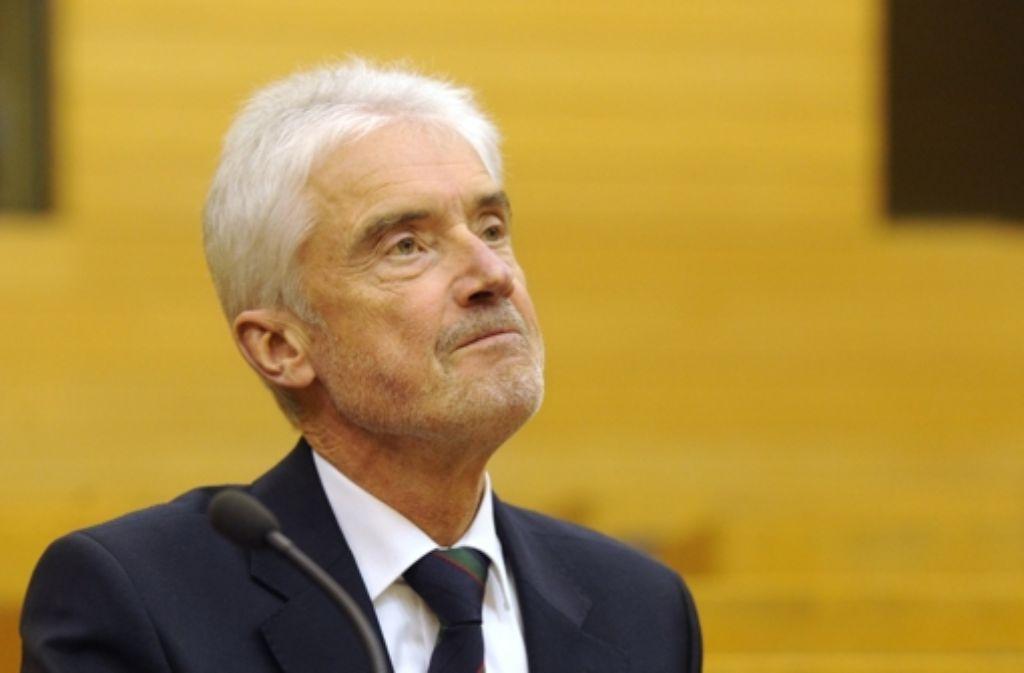 Ulrich Goll verriet den Lobbyisten, wie Politiker gerne angesprochen werden. Foto: dpa