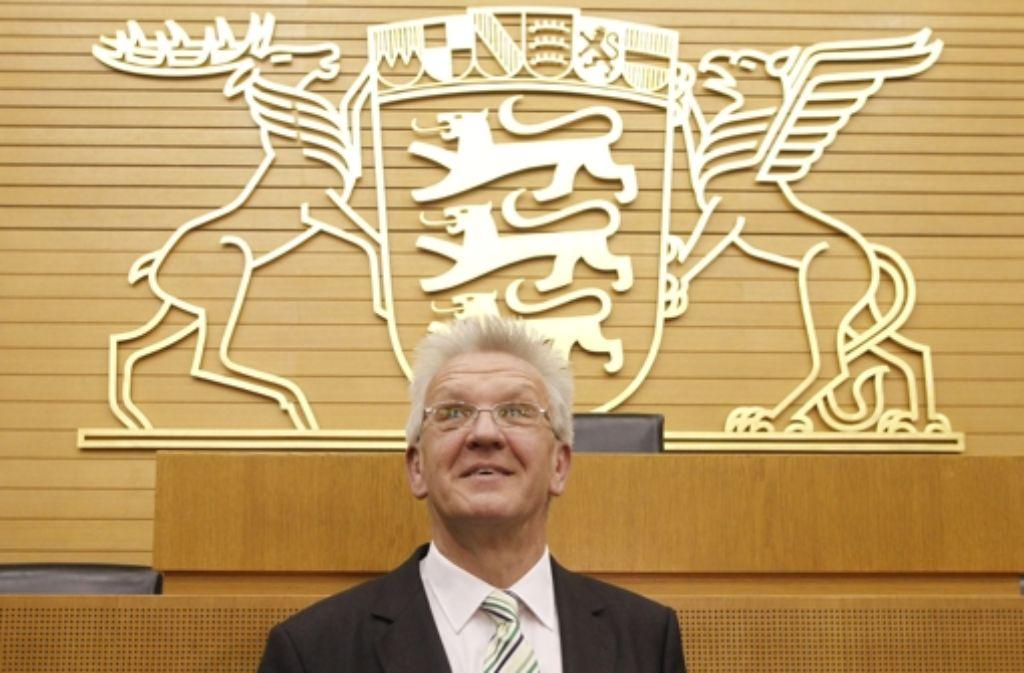 Kretschmanns Politik des Gehörtwerdens ist nicht einfach umzusetzen. Foto: dapd