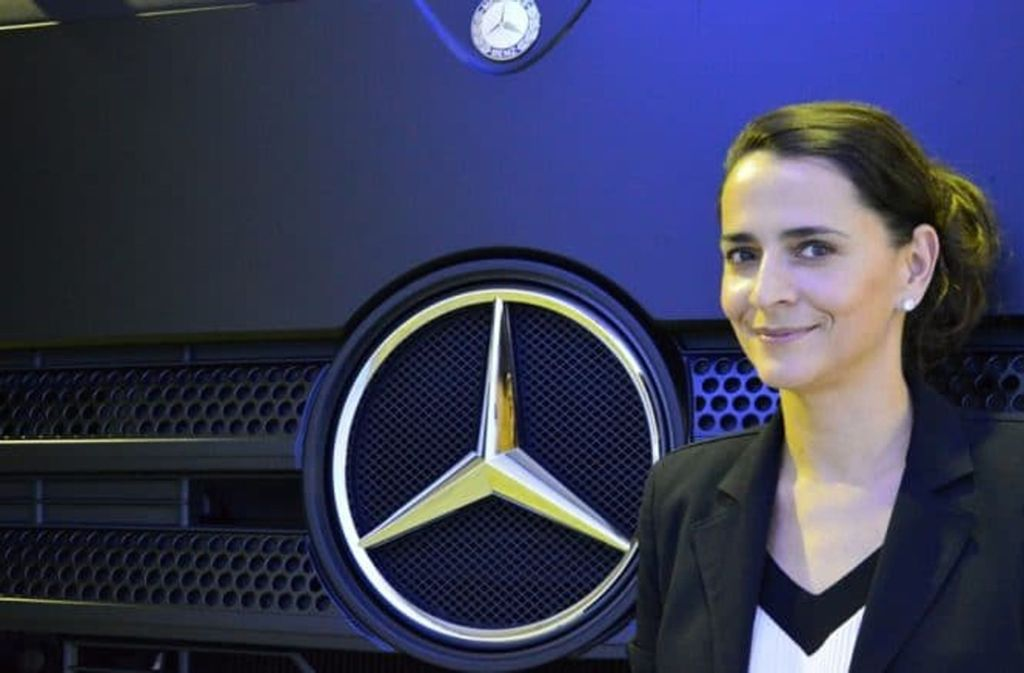 Susanne Hahn (42) leitet das Lab1886 von Daimler. Foto: Roeder