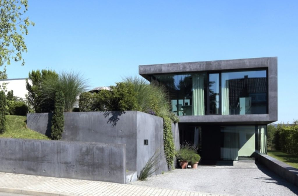 Architekt Ludwigsburg villa h36 in stuttgart meilenstein in dämmbeton architekt mba s