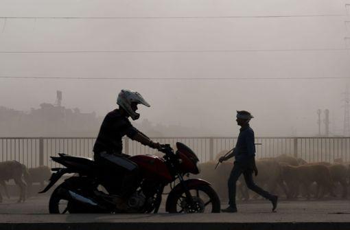 Dicke Luft in Indiens Städten
