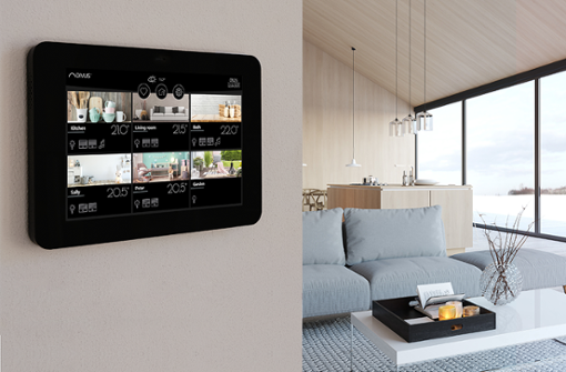 Festverbautes KNX-Panel oder Tablet?