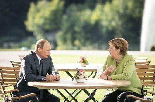 Merkel, Putin und die Chance, Lösungen zu finden
