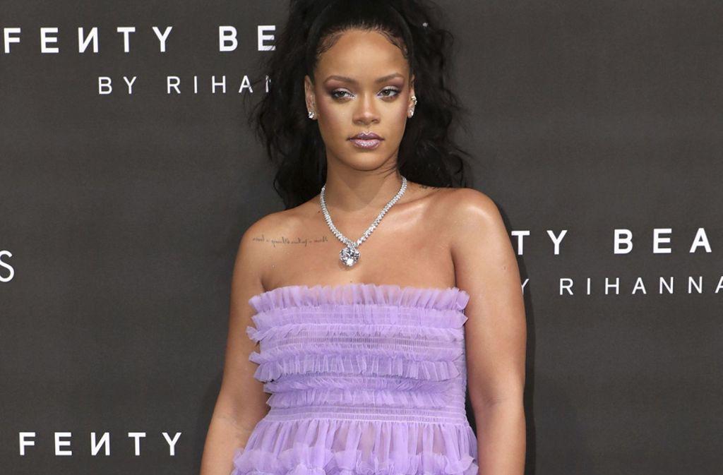 Eine provokante Werbeanzeige auf Snapchat hat die R&B-Sängerin Rihanna und deren Fans gegen das soziale Netzwerk aufgebracht. Foto: Invision