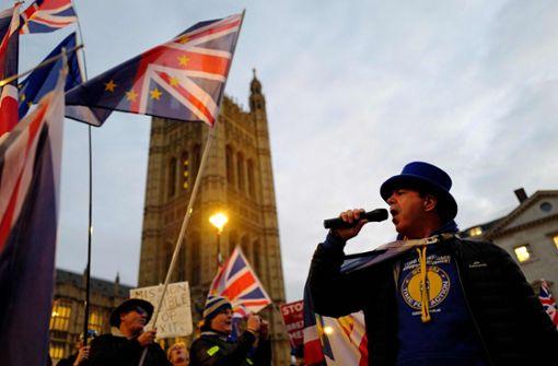Die Brexit-Geschichte schreibt ein neues Kapitel