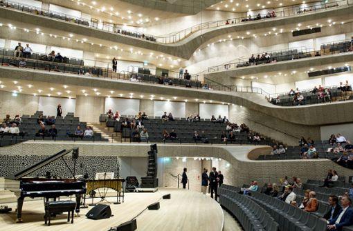 Applaus fürs erste Konzert seit fünf Monaten
