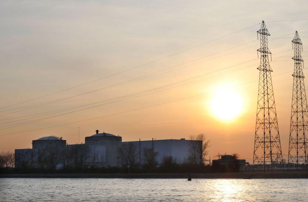 Erst in der vergangenen Woche ist es im Atomkraftwerk Fessenheim am Rhein wieder zu einem Zwischenfall gekommen. Foto: dpa