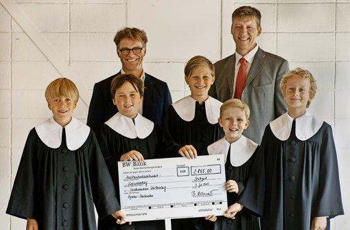 Hymnus-Chorknaben ersingen 2865 Euro