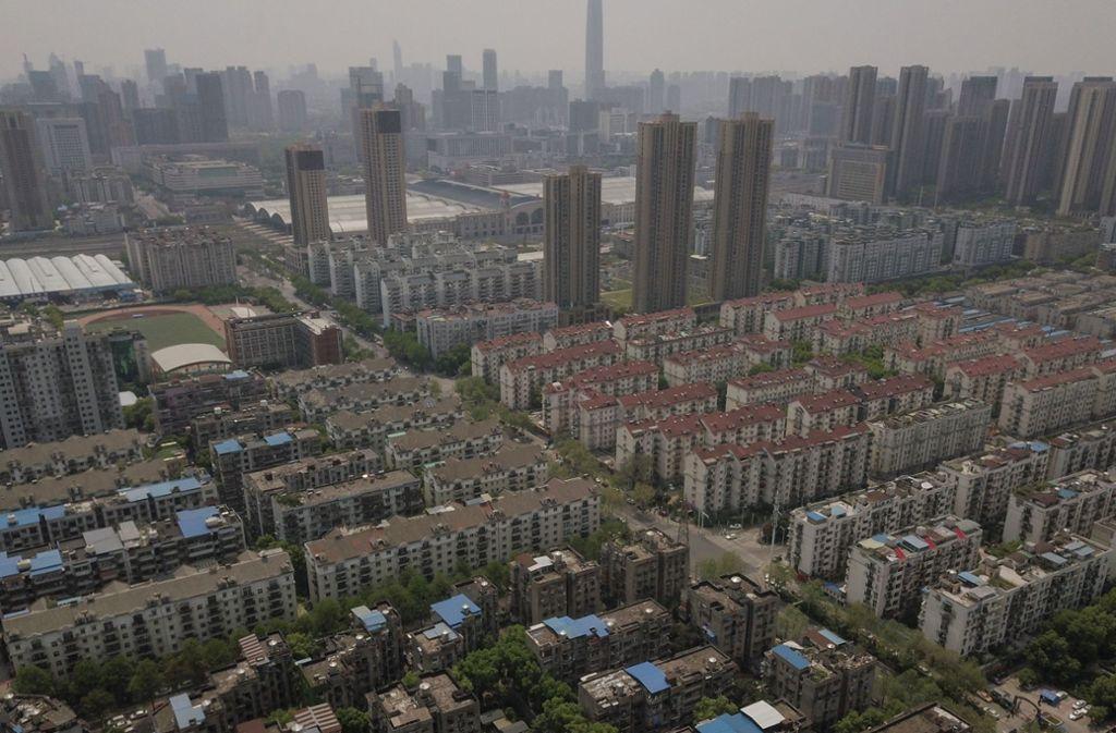 Wuhan, Ursprungsort der Corona-Pandemie, ist wieder geöffnet worden. Foto: AFP/HECTOR RETAMAL