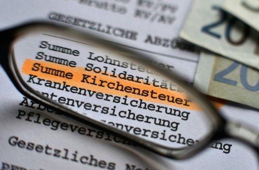 Geldsegen für Diözese Rottenburg-Stuttgart