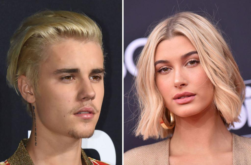 """Laut des """"People""""-Magazin sind Justin Bieber und Hailey Baldwin bereits verheiratet. Foto: AFP"""