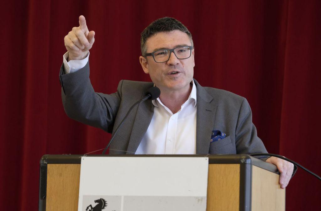 Stefan Kaufmann warnt vor jeglicher Zusammenarbeit mit der AfD. Foto: Lichtgut/Michael Latz/Lichtgut/Michael Latz