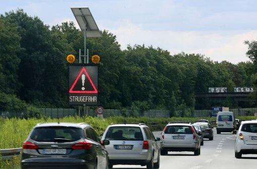 Staus bremsen Autofahrer am Wochenende aus