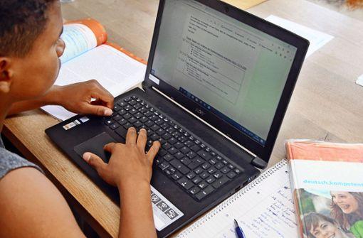 Schüler nach Ferienende im digitalen Nichts