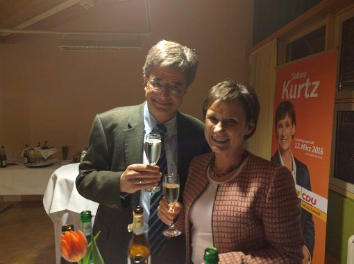 Sabine Kurtz bleibt im Landtag