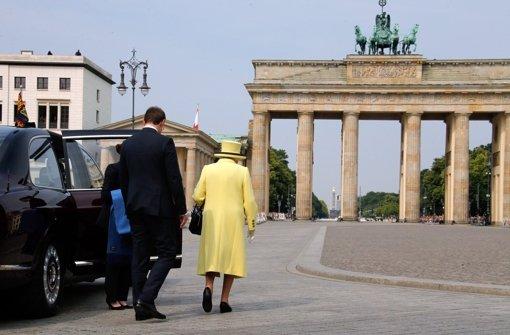 Elizabeth II. sagt Berlin Goodbye