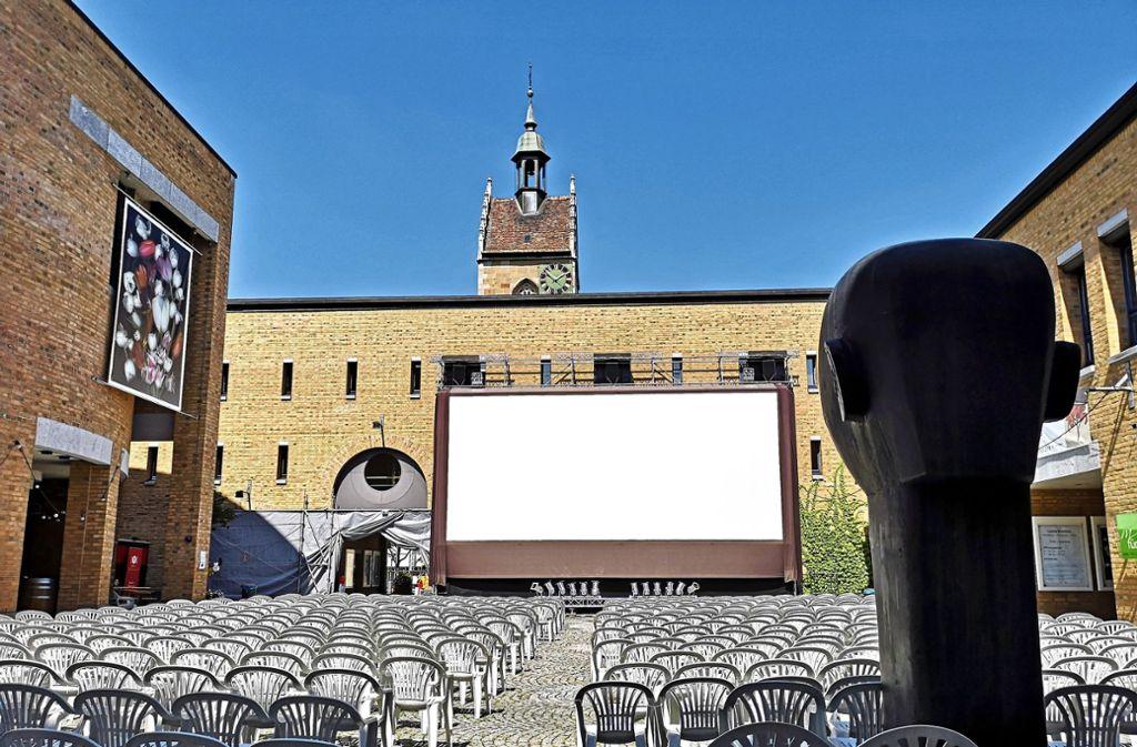 Das Open-Air-Kino in Fellbach steht in diesem Jahr wegen der Corona-Pandemie auf der Kippe. Foto: Patricia Sigerist