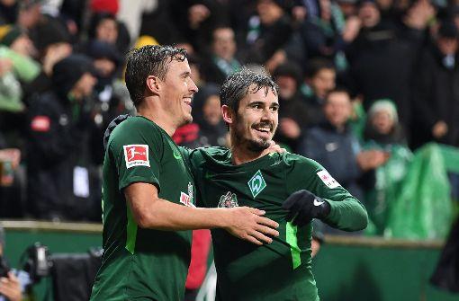 Werder Bremen siegt bei Kohfeldts Heimdebüt