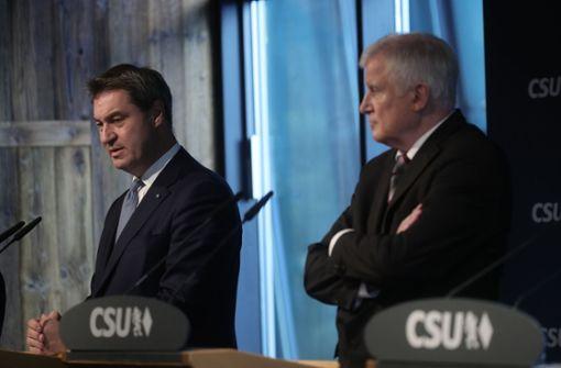 Die CSU sieht erst mal keinen Grund für Personaldiskussionen