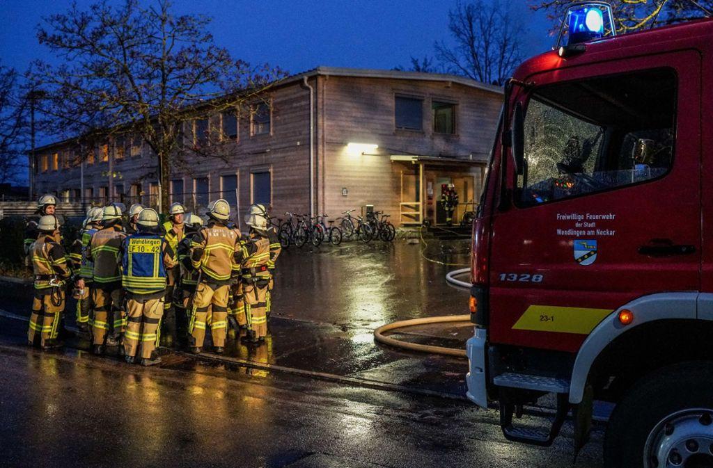 Am Donnerstagmorgen brach in einer Flüchtlingsunterkunft im Kreis Esslingen ein Brand aus. Foto: SDMG/SDMG / Kohls