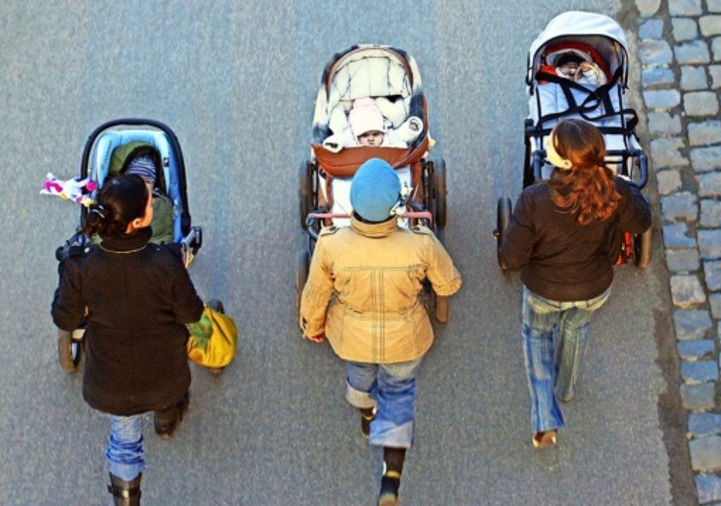 In Süd, Mitte und West sind überdurchschnittlich viele Kinder geboren worden. Foto: dpa