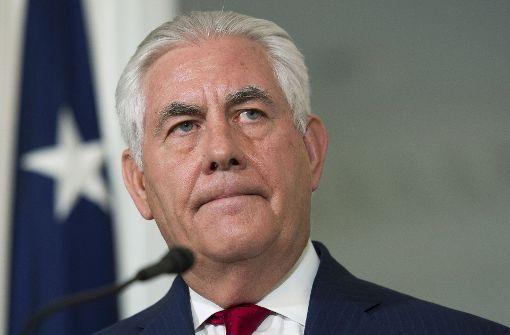 """Muss Tillerson gehen? Weißes Haus plant angeblich """"Rexit"""""""