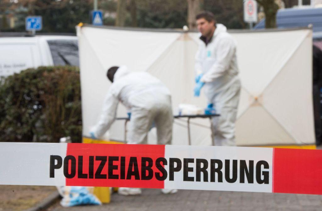 Die Polizei konnte den mutmaßlichen Schützen fassen. Foto: dpa