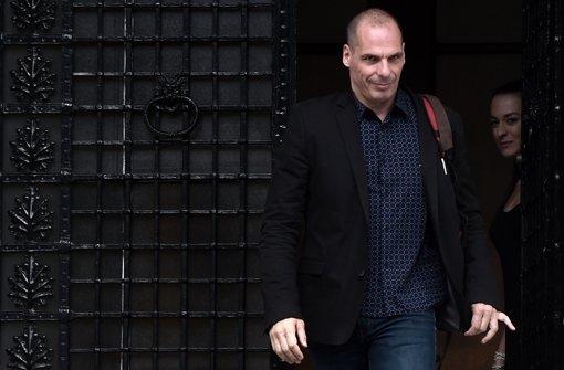Varoufakis verlässt die große Bühne