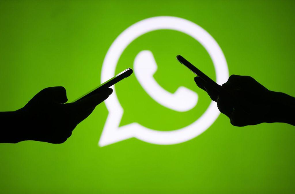 Nach Angaben von WhatsApp werden in Indien mehr Nachrichten, Fotos und Videos weitergeleitet als in jedem anderen Land. Foto: Getty