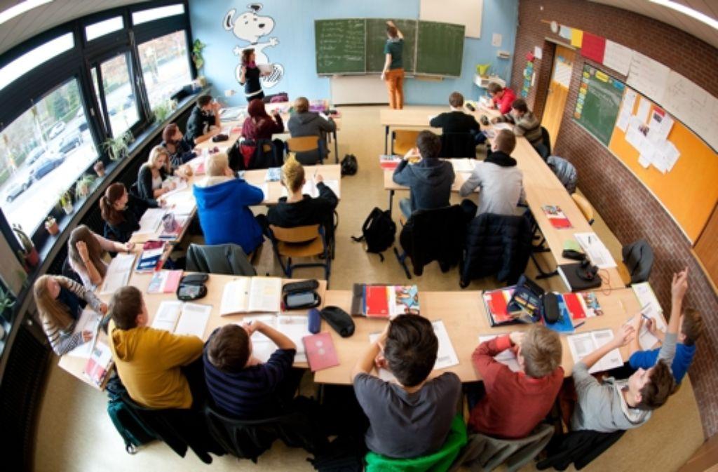 Wenn es nach der CDU geht, bleiben Realschulen erhalten und gehen nicht in Gemeinschaftsschulen auf. Foto: dpa