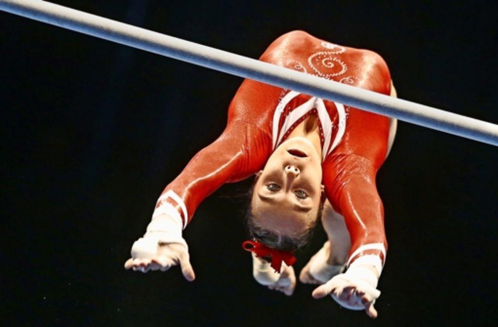 Tabea Alt steckt sich immer hohe Ziele, vielleicht reicht es dieses Jahr noch für  Olympia in Rio. Foto: Baumann