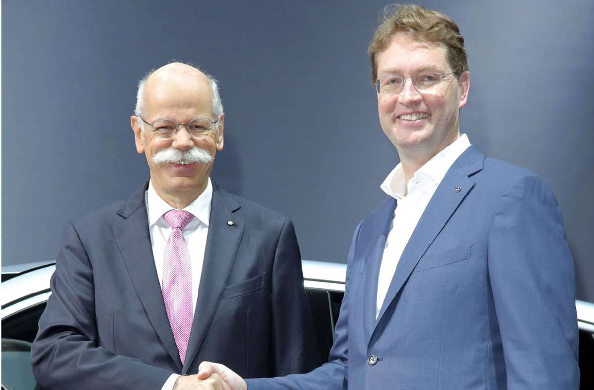 Wie beliebt ist der Daimler-Chef? 2019 schaffte es Dieter Zetsche, damals noch im Amt, auf Platz 2. Kann sein Nachfolger Ola Källenius mithalten? Foto: imago images / Tinkeres