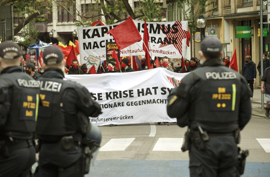 Der Sicherheitsabstand konnte nicht immer eingehalten werden. Foto: Lichtgut/Julian Rettig