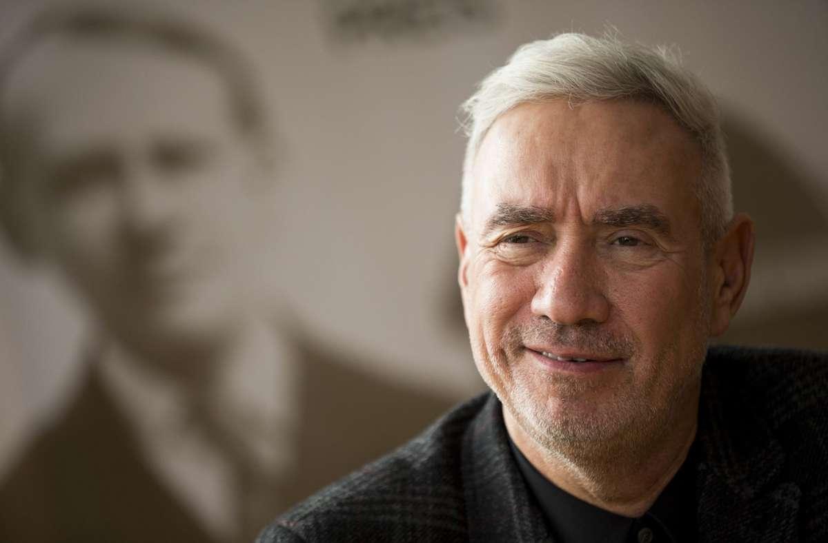 Roland Emmerich 2017 in Stuttgart anlässlich der Verleihung des Carl-Laemmle-Preises Foto: Lichtgut/Leif Piechowski