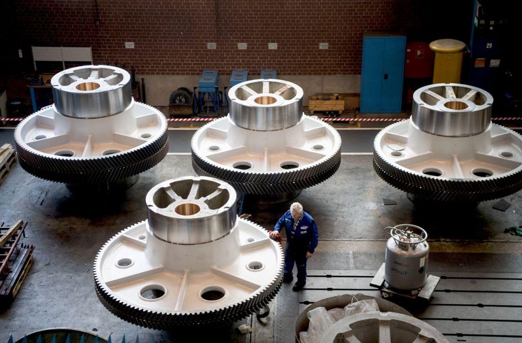 Im nächsten Jahr werden sich die Räder im südwestdeutschen Maschinenbau aller Voraussicht nach etwas langsamer drehen. Foto: dpa