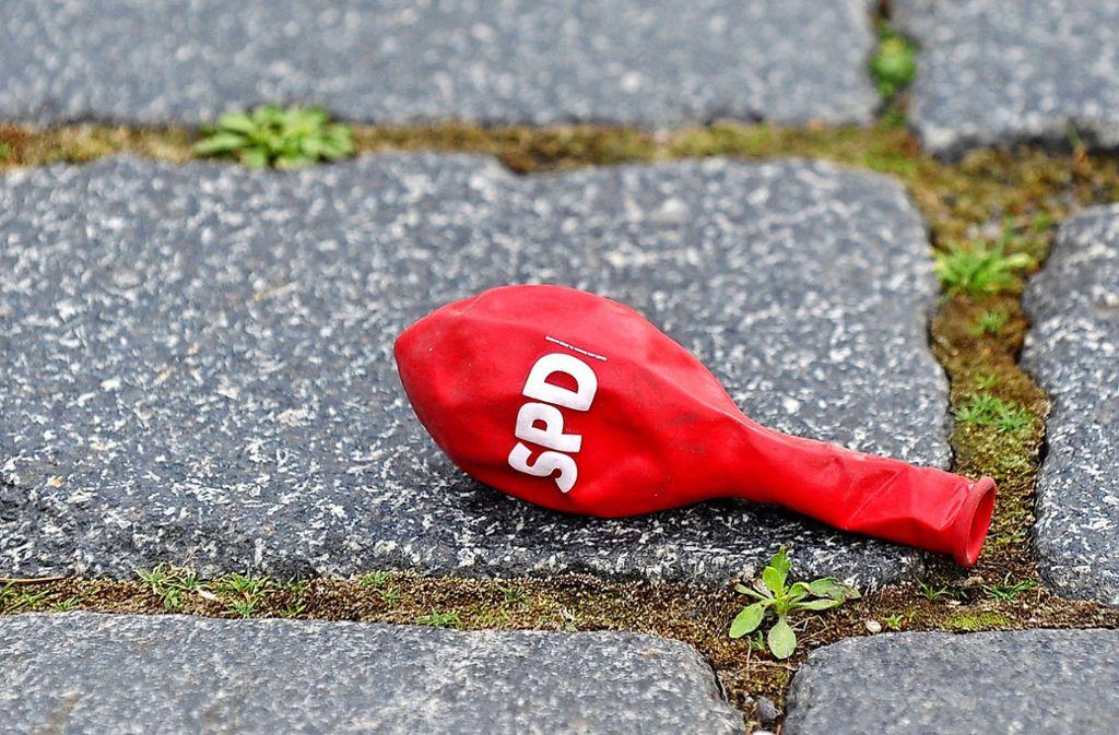 Nicht nur bei der SPD, auch bei der CDU ist nach der jüngsten Gemeinderatswahl die Luft raus. Foto: dpa