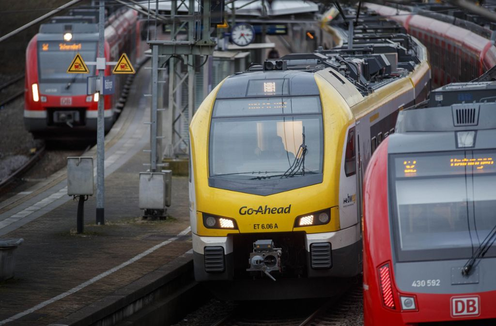 Zwischen Waiblingen und Winnenden fahren in der zweiten Pfingstferienwoche keine Züge. Foto: Gottfried Stoppel