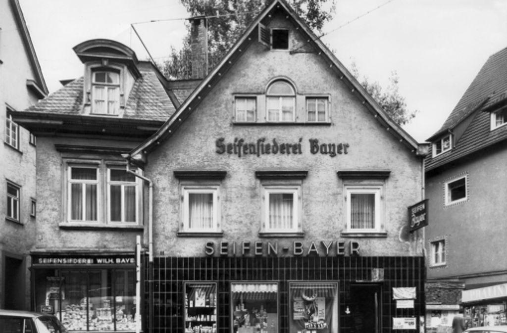 In diesem Haus wuchs Thaddäus Troll auf. Foto: Silberburg-Verlag