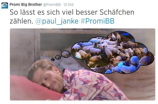 Paul Janke weint seiner Alex nach