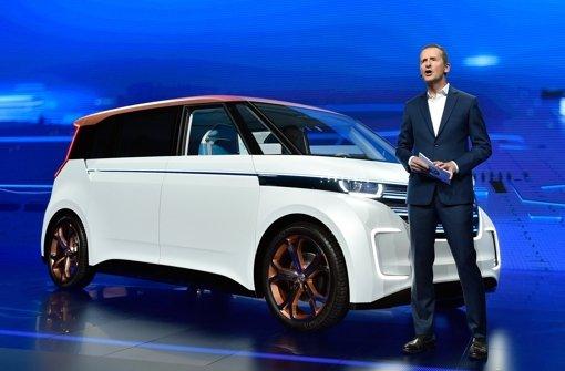 Kein leichter Auftritt für VW-Manager