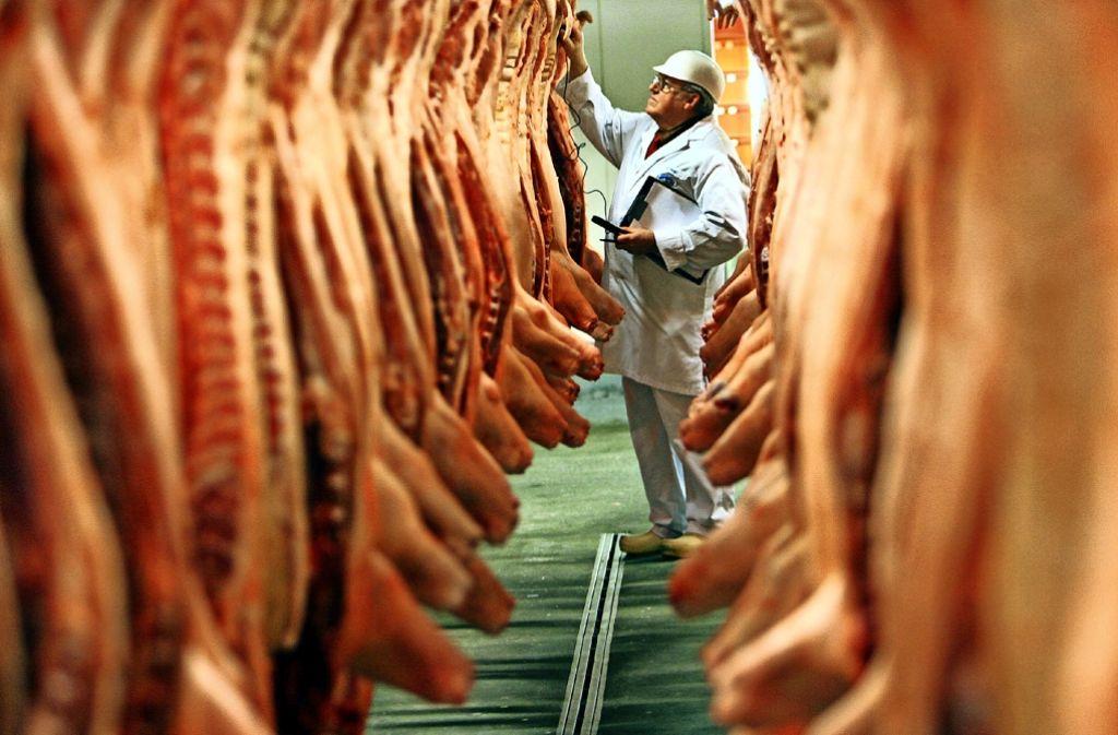 Aus Deutschland wird mehr Fleisch exportiert als je zuvor. Foto: dpa
