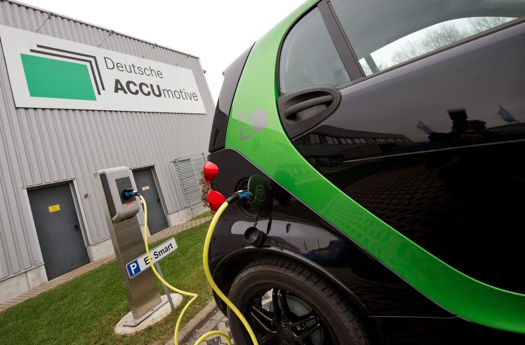 Den Stromautos gehört die Zukunft, doch wer sie wo baut, ist ungewiss. Foto: dpa