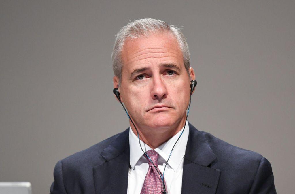 Investmentbanking-Chef Ritchie erntete auf der Hauptversammlung scharfe Kritik. Foto: dpa