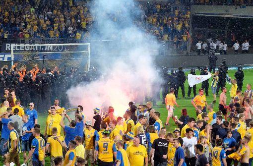 Unschöne Szenen überschatten Relegationsduell